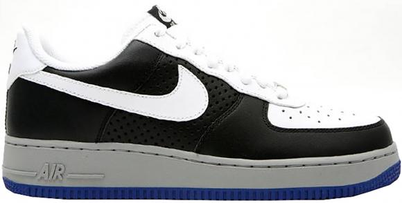 Nike Air Force 1 Low White Black Grey Royal (2008) - 315122-191