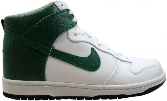 Nike Dunk High Premium White/Pine Green-Varsity Maize - 317891-131
