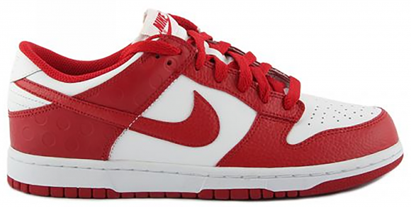 Nike Dunk Low White Varsity Red (2011) - 318019-103