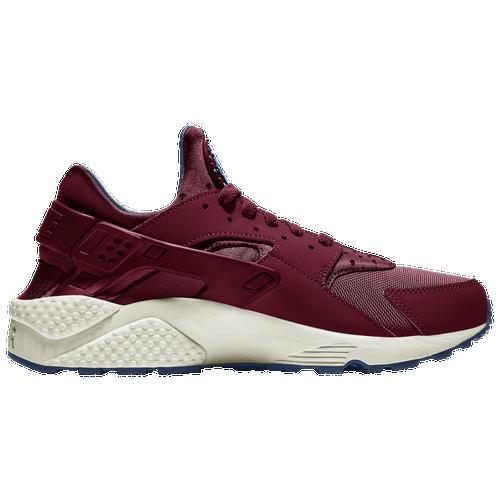 Nike Air Huarache - Men's Running Shoes - Team Red / Team Red / Navy / Sail - 318429-608