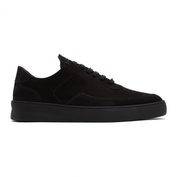 Filling Pieces Black Mondo Plain Nardo Low Sneakers - 33021911847