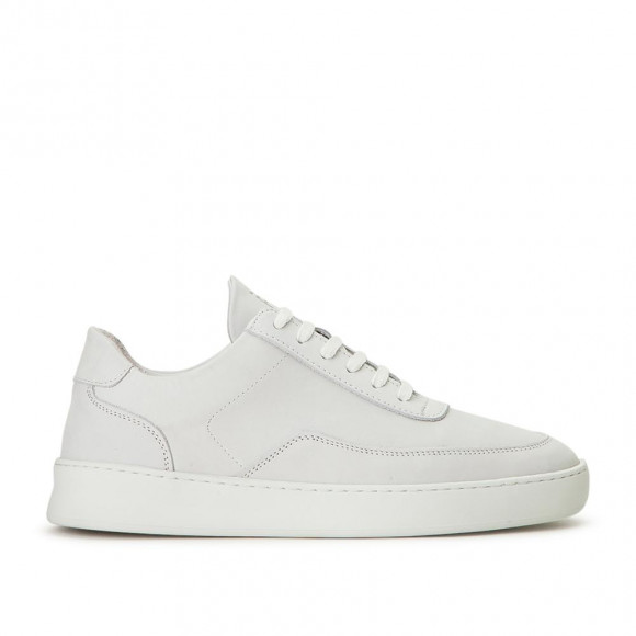 Filling Pieces Low Mondo Plain Nardo Nubuck White - 330263119010