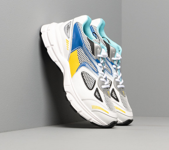 Axel Arigato Marathon Runner White/ Cobalt/ Yellow - 33038