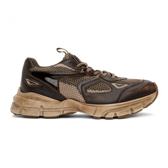 Axel Arigato Brown Dip-Dye Marathon Sneakers - 33064