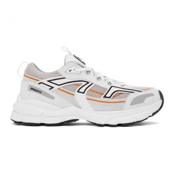 Axel Arigato SSENSE Exclusive White and Orange Marathon R-Trail Sneakers - 33065