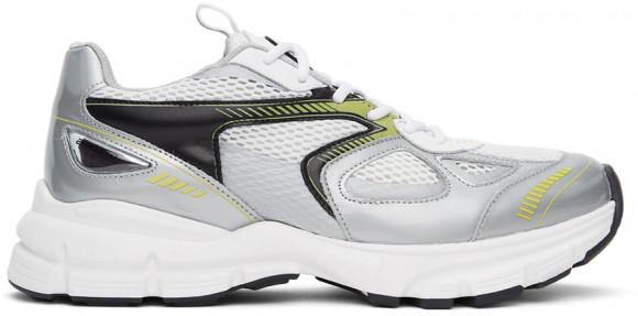 Axel Arigato White & Silver Marathon Sneakers - 33067