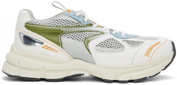 Axel Arigato White & Green Marathon Sneakers - 33071