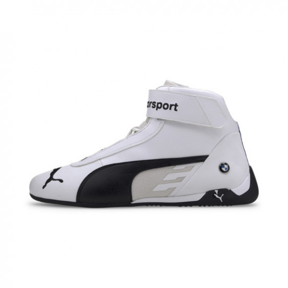 PUMA BMW M Motorsport R-Cat Mid Men's Motorsport Shoes in White/Black - 339932-02