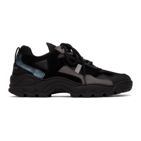 Filling Pieces Black Low Curve Iceman Trimix 2.0 Sneakers - 34728051861