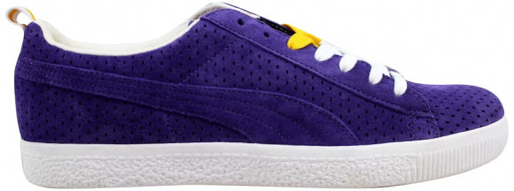 Puma Clyde X Undefeated Gametime Violet/White-Team Yellow - 354271-03