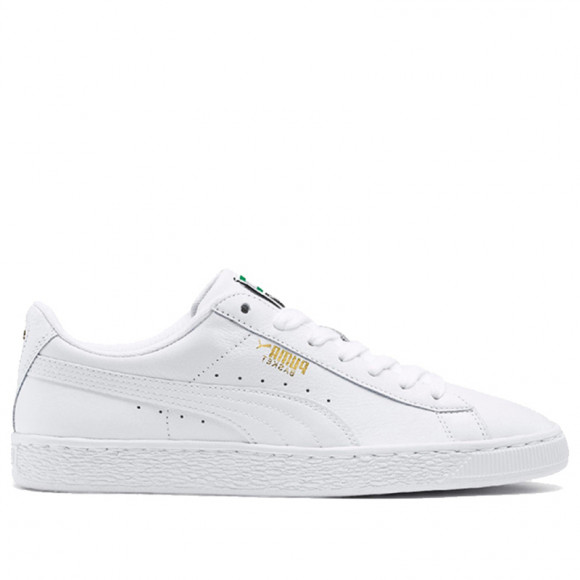 PUMA Heritage Basket Classic Sneakers in White - 354367-17