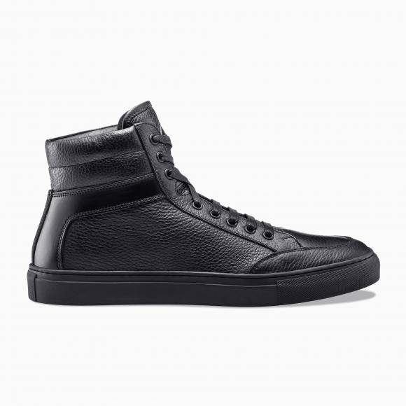 KOIO Women's High Top Nero Black Leather Primo 8 (US) / 38 (EU) - 355484583