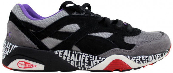 Puma R698 X Stuck Up X ALIFE Limestone GrayBlack