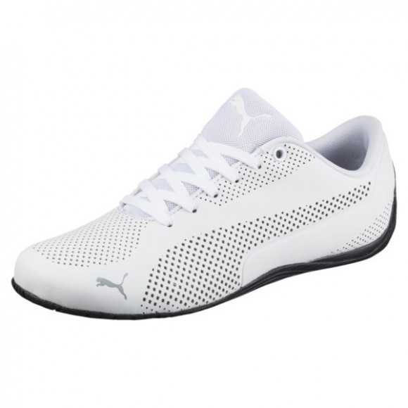 Puma Drift Cat Ultra Reflective Lace Up Sneakers Casual Shoes White- Mens- Size 9 D - 363814-03