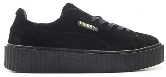 Puma Fenty x Velvet Creeper 'Black' Puma Black Sneakers/Shoes ...