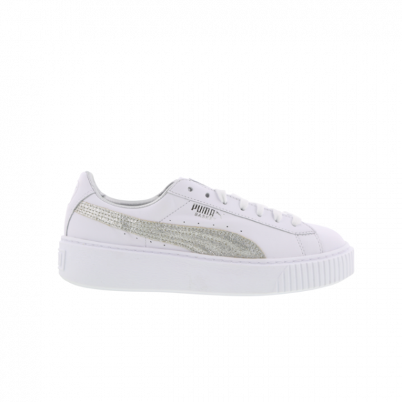 Puma Basket Platform Diamond Crush Women Shoes 365064 01