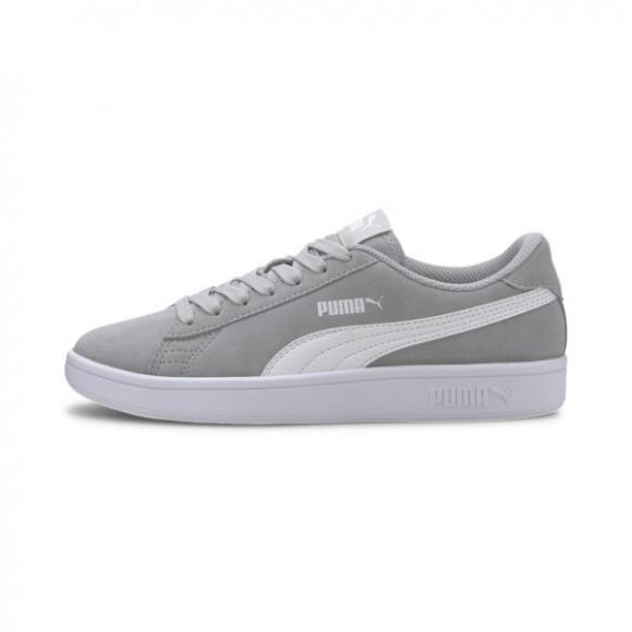 PUMA Smash v2 Suede Sneakers JR in Grey - 365176-21