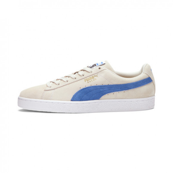 Puma Suede Classic Lace Up Sneakers Casual Shoes Beige- Mens- Size 8 D - 365347-80