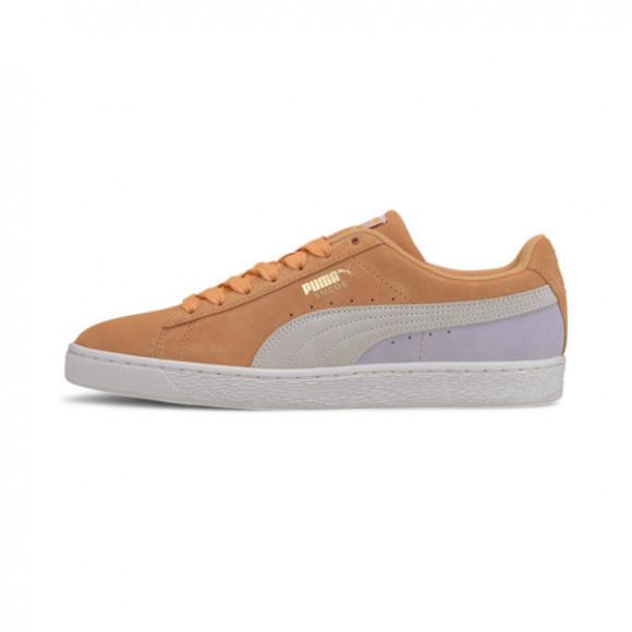 PUMA Suede Classic Sneakers in Cantaloupe/White/Purple - 365347-88