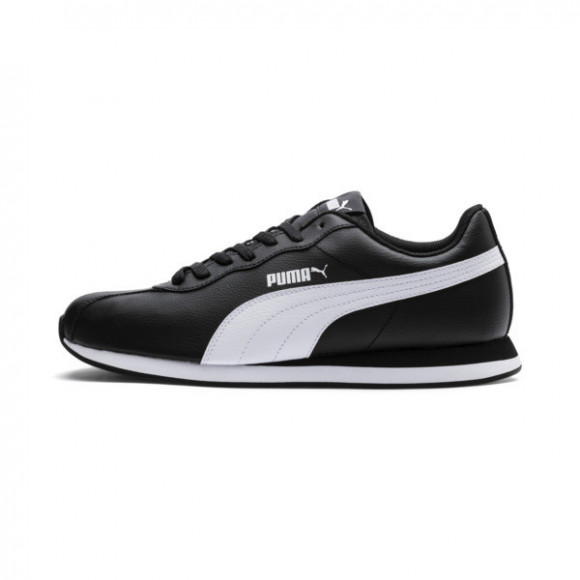Puma Turin II Lace Up Sneakers Casual Shoes Black- Mens- Size 8.5 D - 366962-01