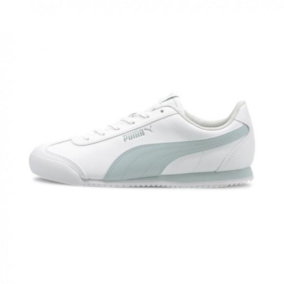 PUMA Turino Leather Women's Sneakers in White/Plein Air - 368614-01