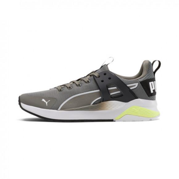 PUMA Anzarun Cage Edge Men's Sneakers in Ultra Grey/PWhite/Fizzy Yellow - 368681-02