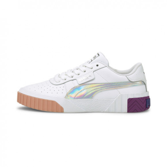 PUMA Cali Bubbles Sneakers JR in White/Byzantium - 368770-01
