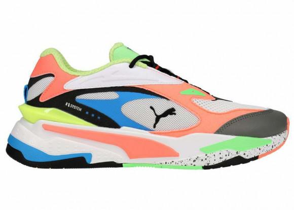 PUMA RS-Fast Sneakers in White/Peach/Blue - 368783-01