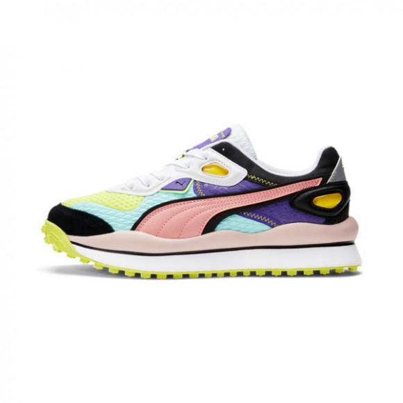 PUMA Womens PUMA Street Rider - Womens Shoes Purple/Blue/Pink Size 09.5 - 368834-01