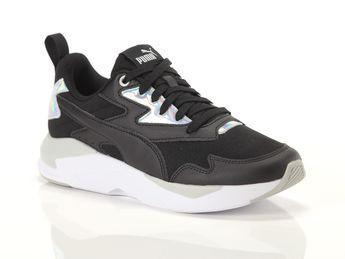 PUMA X-RAY Lite Metallic Women's Sneakers in Black/White/Grey ...