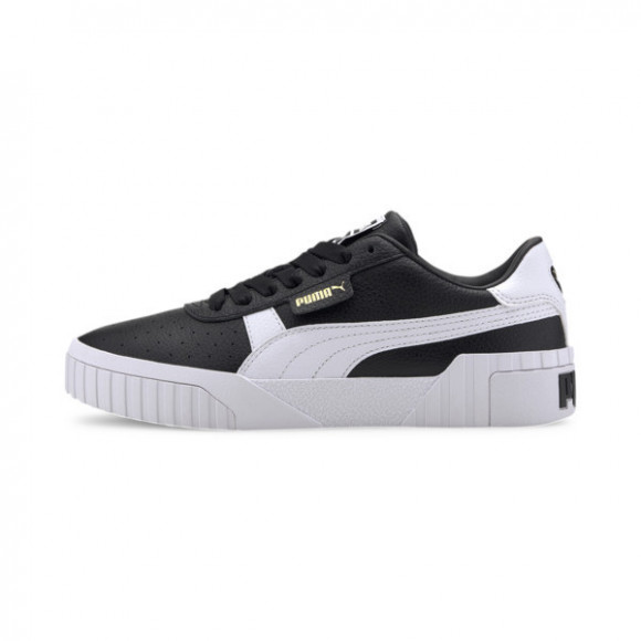 PUMA Cali Women's Sneakers in Black/White - 369155-18