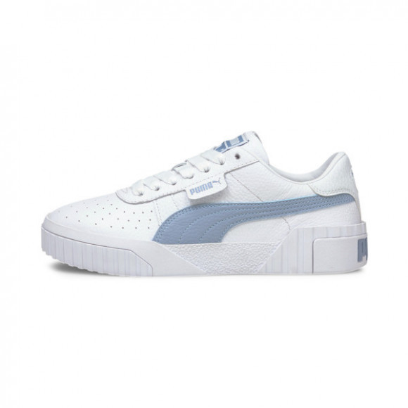 PUMA Cali Women's Sneakers in White/Forever Blue - 369155-33
