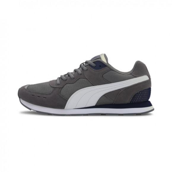 PUMA Vista Men's Sneakers in Grey/White/Peacoatsilver - 369365-19