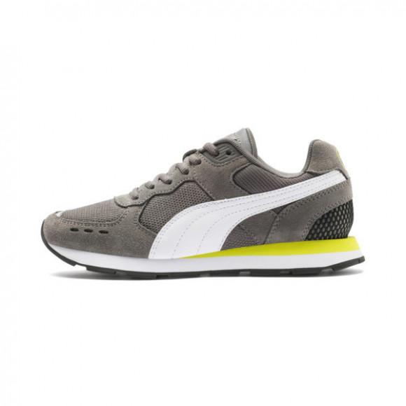 PUMA Vista Sneakers JR in Grey, Size 4.5 - 369539-06