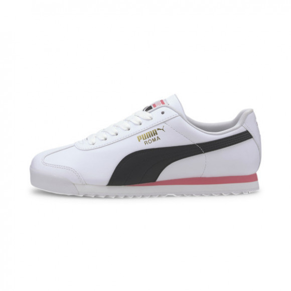 PUMA Roma Basic+ Sneakers in White/Bubblegum - 369571-14