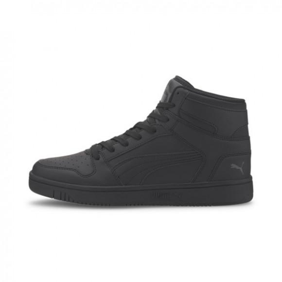 PUMA Rebound LayUp Men's Sneakers in Black/Dark Shadow, Size 10.5 - 369573-11