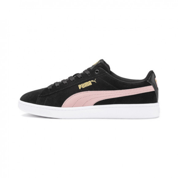PUMA Vikky v2 Women's Sneakers in Black/B Rose/Gold, Size 11 - 369725-11