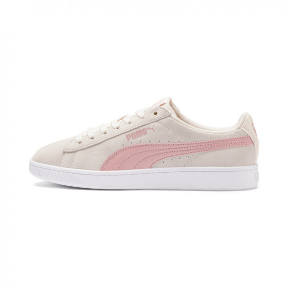 PUMA Vikky v2 Women's Sneakers in Pale Parchment/B Rose/White - 369725-12