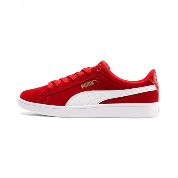 PUMA Vikky v2 Women's Sneakers in High Risk Red/White - 369725-25