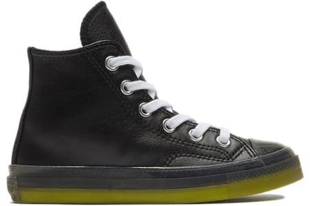 Converse CHUCK 70 HI BLACK WHITE Canvas Shoes/Sneakers 369787C - 369787C