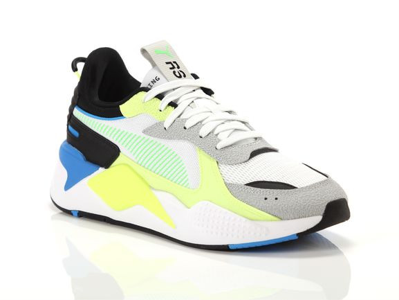 Puma Rs-x hard drive sneakers PUMA WHITE/FIZZY YELLOW 45 - 369818-11