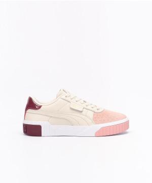 Cali Remix Puma Beige/rose/bordeaux 40 Femme - 369968-01