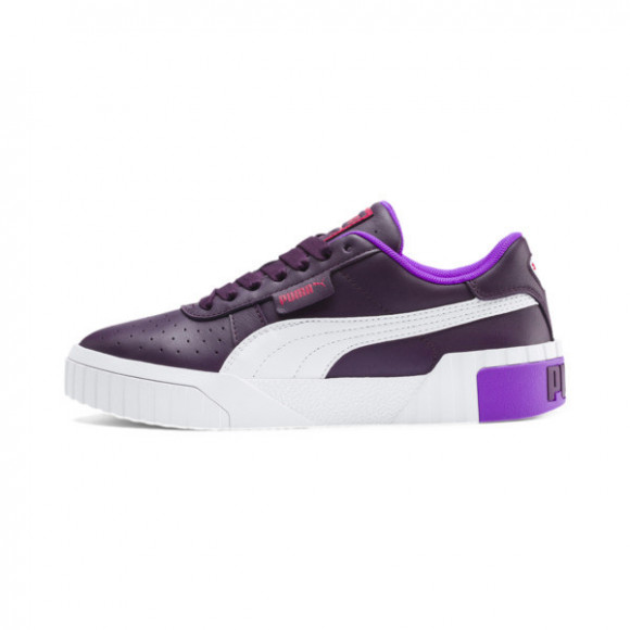 Puma Cali Chase Lace Up Sneakers Casual Shoes Purple- Womens- Size 6 B - 369970-01
