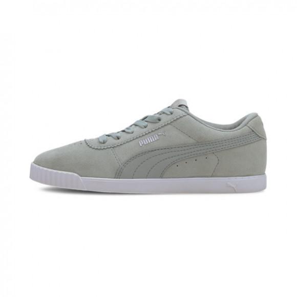 PUMA Carina Slim Suede Women's Sneakers in Aqua Grey - 370549-09