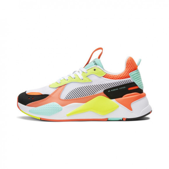 PUMA RS-X Toys Women's Sneakers in White/Black/Peach - 370750-22