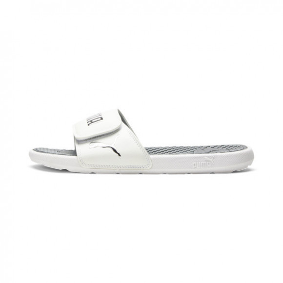 PUMA Cool Cat V Women's Slides in Grey - 371014-02