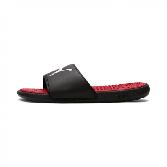 PUMA Cool Cat Sport Slides JR in Black - 371034-03
