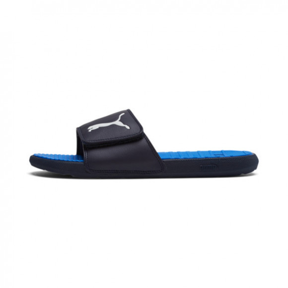 PUMA Cool Cat Sport V Slides in Peacoat/Palace Blue/PWhite, Size 11 - 371051-04