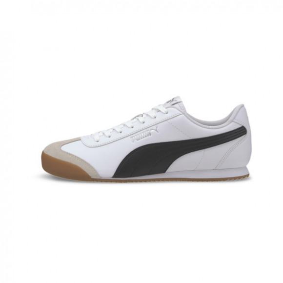 PUMA Turino Men's Sneakers in White/Black/Gum - 371113-03