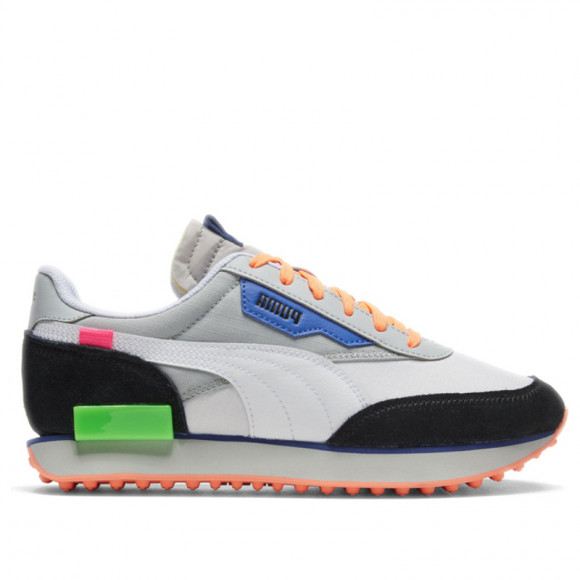 PUMA Future Rider Play On Sneakers in Grey, Size 10.5 - 371149-05